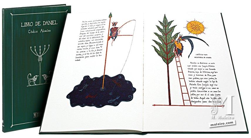 Libro de Daniel Alcaíns Codex Alcaíns Codex