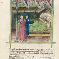 f. 98r, Conversations whilst asleep