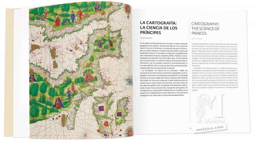 Catálogo de M. Moleiro, el Arte de la Perfección La cartografía: la ciencia de los príncipes