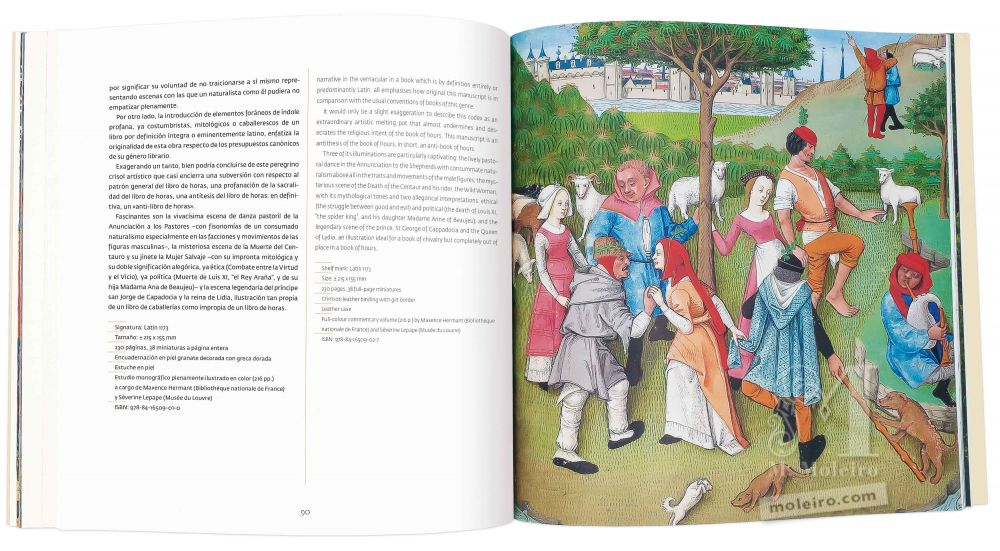 Catalogue de M. Moleiro, l'Art de la Perfection Les Heures de Charles d'Angoulême