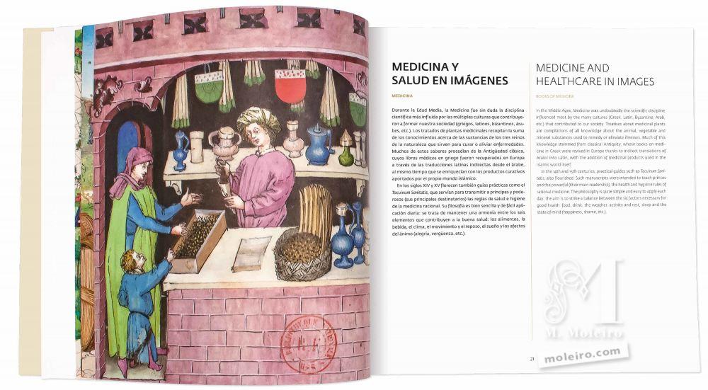 Catálogo de M. Moleiro, el Arte de la Perfección Medicina y salud en imágenes