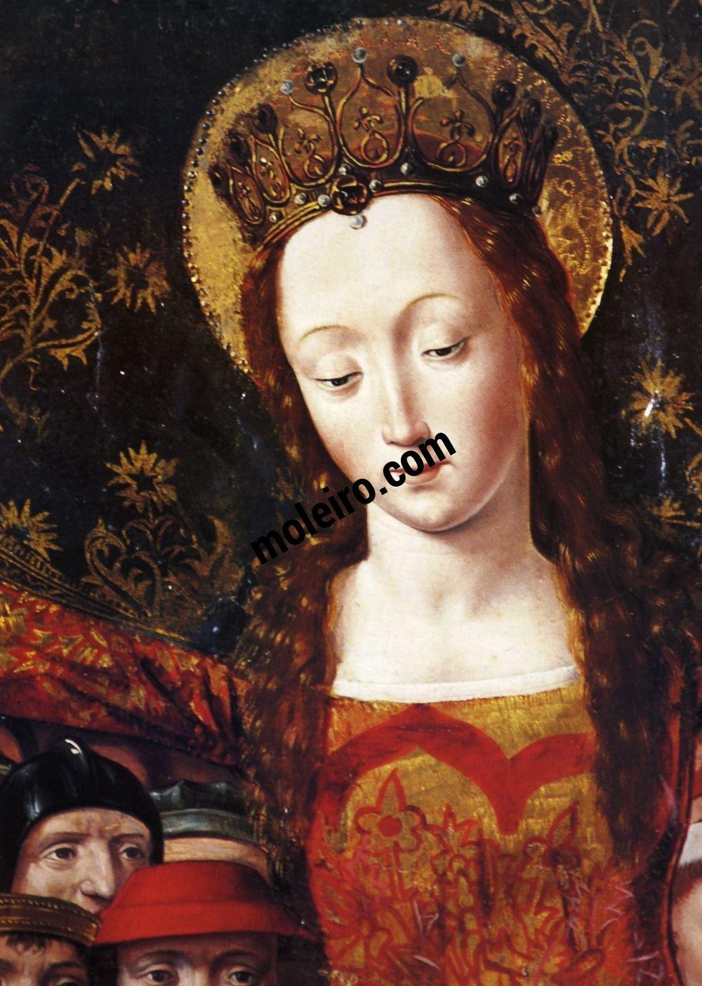 El Arte Barroco en España y Portugal Master of Santa Maria del Campo, Our Lady of Mercy (detail), late fifteenth century. Archaeological Museum, Madrid.