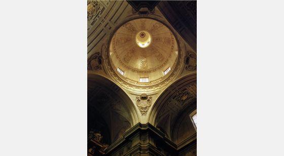 El Arte Barroco en España y Portugal Dome of the Clerecía.By Juan Gómez de Mora (1617). Salamanca, Spain.