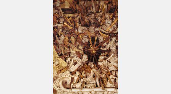 El Arte Barroco en España y Portugal Oeuvre de Narciso Tomé, 1721. Cathédrale de Tolède, Espagne.