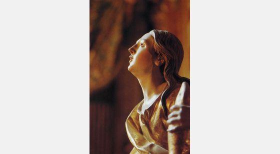 El Arte Barroco en España y Portugal This saint personifies the intensity of mystic transport. Granada (1704-1720), Spain.