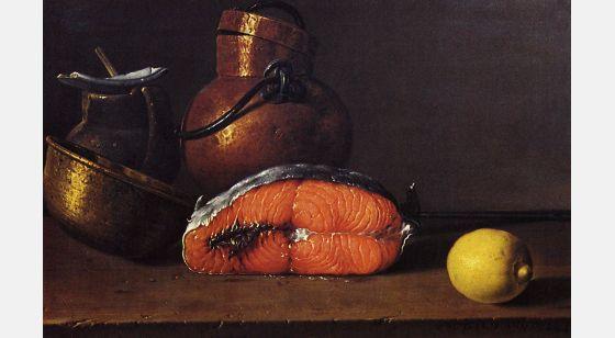 El Arte Barroco en España y Portugal Natureza morta de Luis Meléndez, 1722. Museu do Prado, Madrid, Espanha.