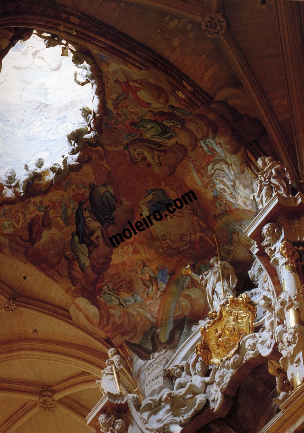 El Arte Barroco en España y Portugal Oeuvre de Narciso Tomé (1721-1731). Tolède, Espagne