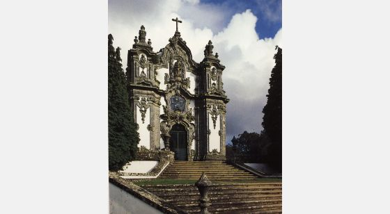 El Arte Barroco en España y Portugal Church of Falperra. Artwork by André Soares, 1753-1755.