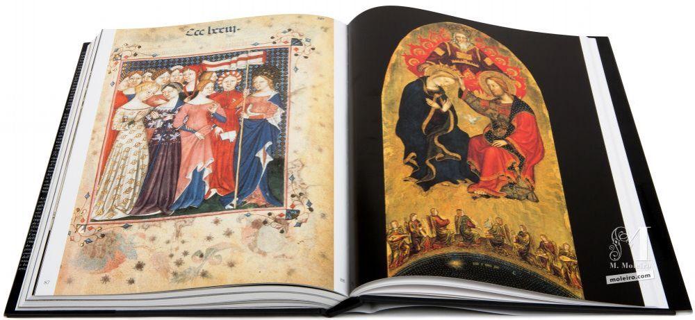El Arte en la Edad Media Santa Úrsula y sus compañeras. Coronación de la Virgen