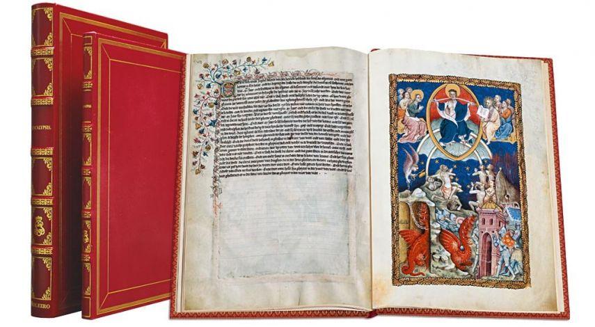 Apocalipsis Flamenco (ms. néerlandais 3, c. 1400-1410) Bibliothèque nationale de France, París