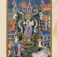 f. 3r, Cartas a las Iglesias de Éfeso, Esmirna, Pérgamo y Tiatira