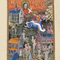 f. 4r, Cartas a las Iglesias de Sardes, Filadelfia y Laodicea