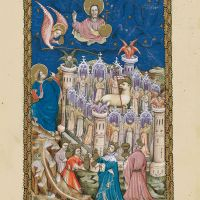 f. 19r, La nouvelle Jérusalem