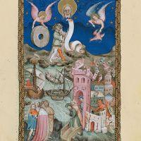 f. 21r, La caída de Babilonia