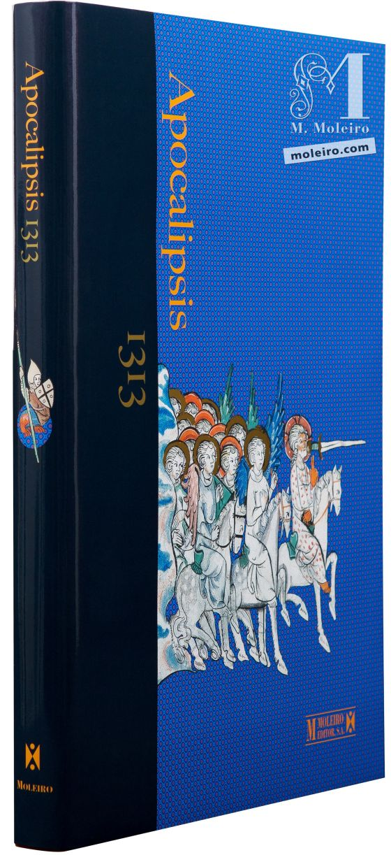 The Apocalypse of 1313 Image of the front and back covers of The Apocalypse of 1313 formatted as a Book of Art.