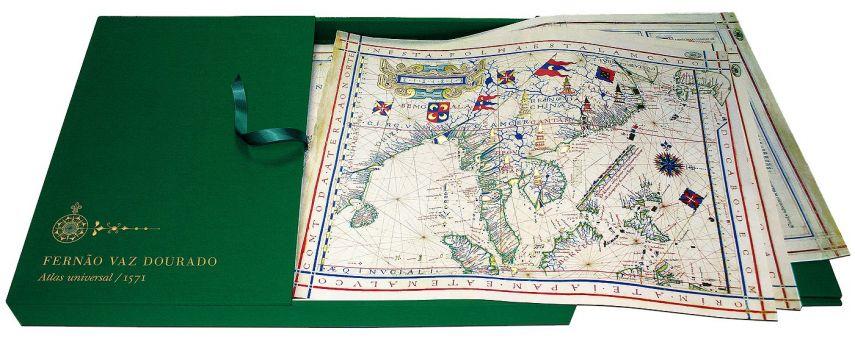 Atlas universal de Fernão Vaz Dourado Arquivo Nacional da Torre do Tombo, Lisboa Arquivo Nacional da Torre do Tombo, Lisboa