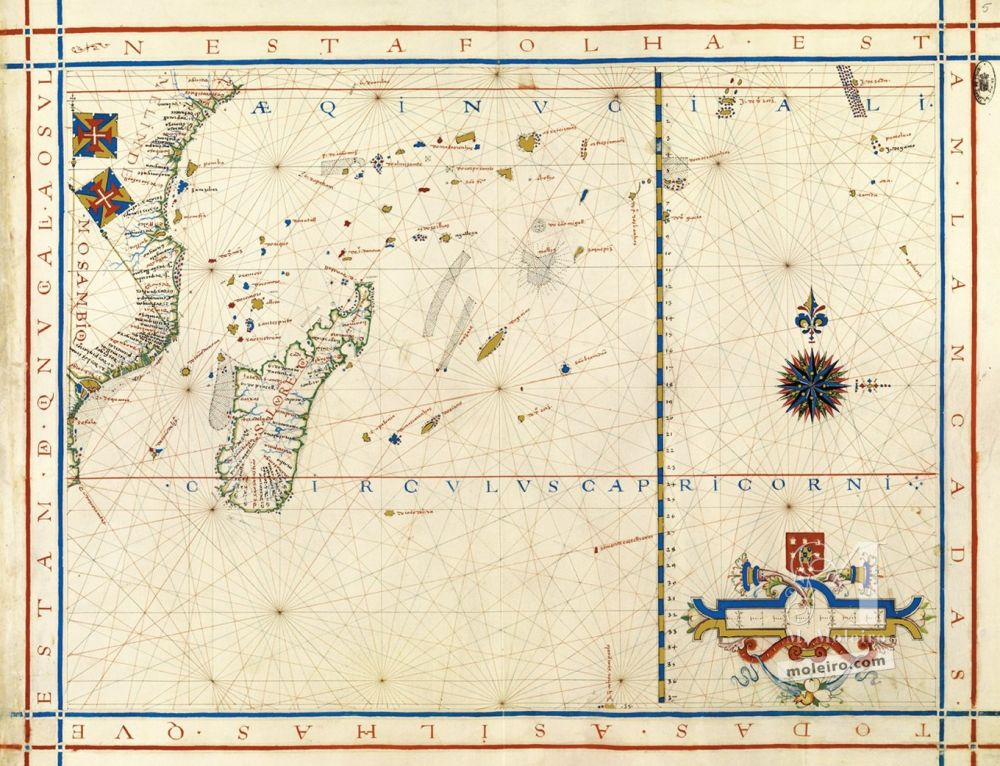 Map No. 4. Africa from the Cape of Good Hope up to the ...