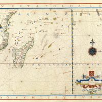 Map No. 5. Madagascar and the islands to the south of the equinoctial line
