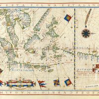 Map No. 8. Southeast Asia and the coast discovered by Ferdinand Magellan up to the coast of Java