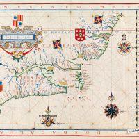 Landkarte 10: Ostküste Kanadas und Nordamerikas