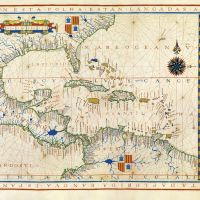 Map No. 11. West Indies, Central and South America, up to the Amazon River