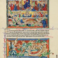 f. 73v, The Lord's Judgement