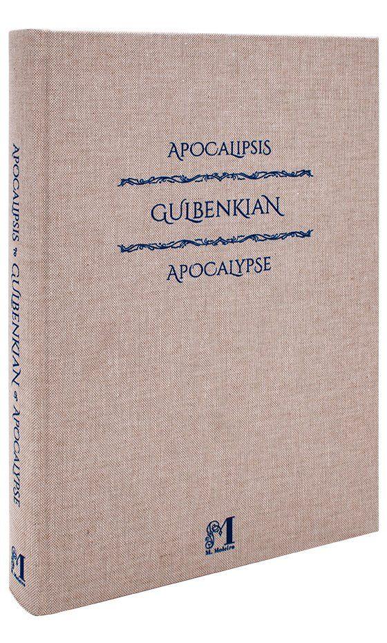 Gulbenkian Apocalypse Gulbenkian Apocalypse art book cloth binding