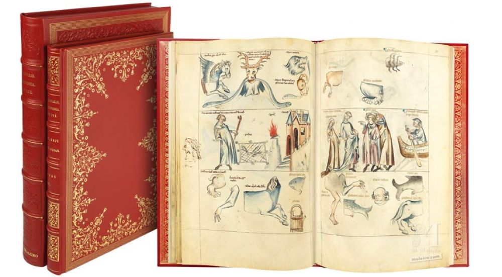 Traité d´Albumasar (Liber astrologiae), Sloane Ms. 3983, moitié du XIVe siècle.