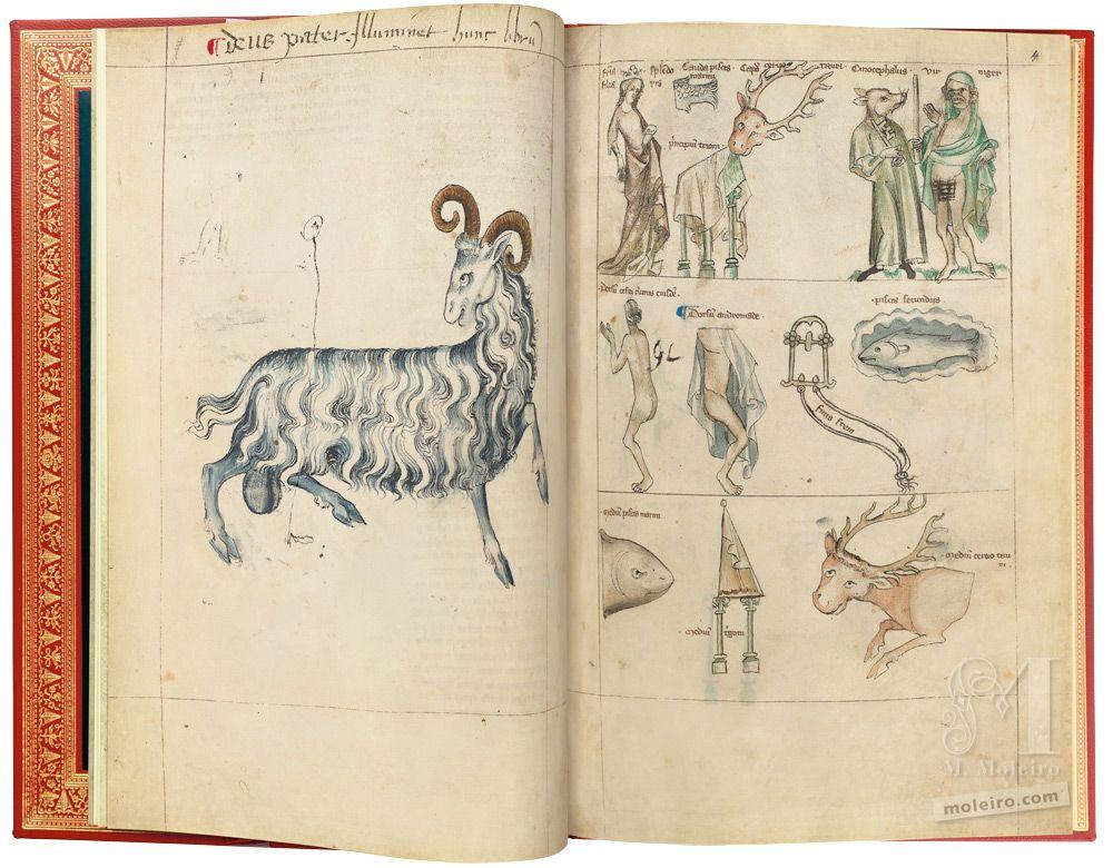Albumazar Treatise (Liber astrologiae) Aries, ff. 3v-4r