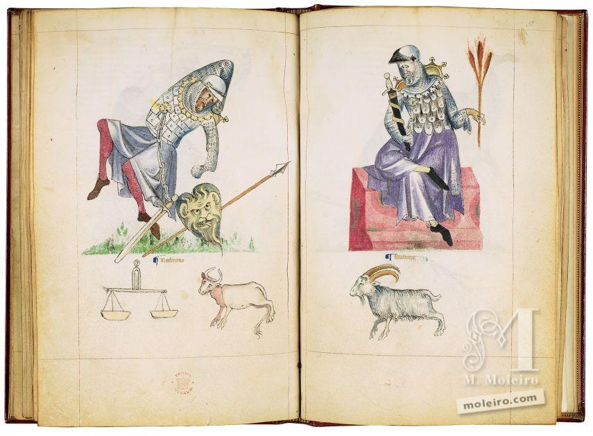 Albumazar Treatise (Liber astrologiae), Sloane Ms. 3983, mid 14th c. Manuscript, treatise on astrology