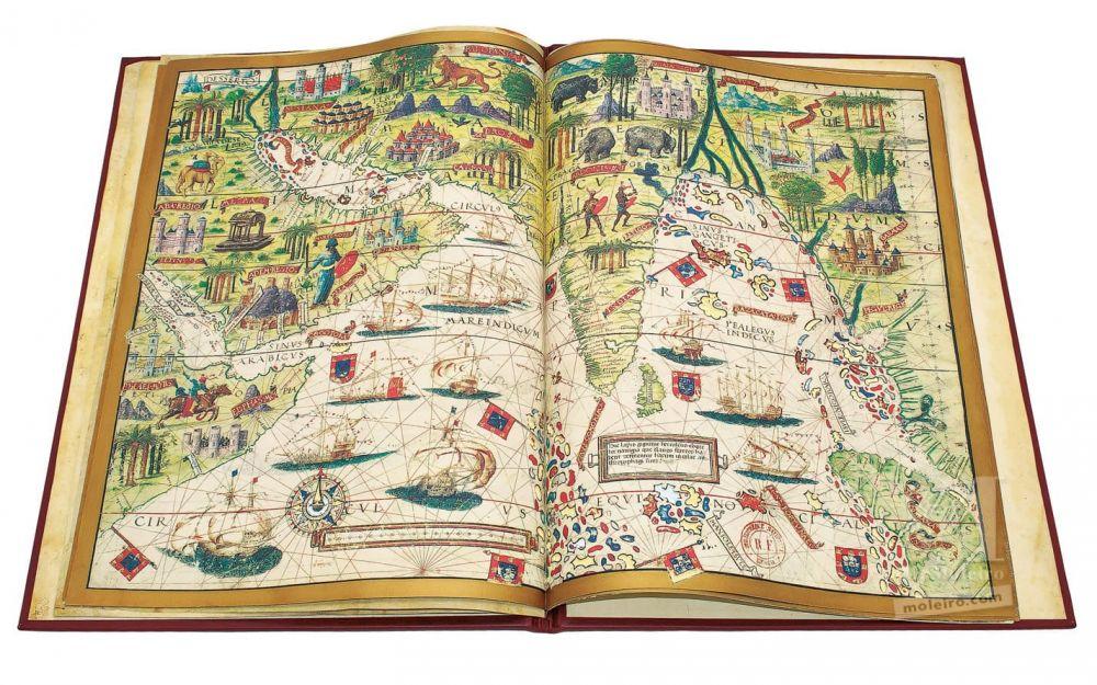 Atlas Miller Arabia y océano Índico