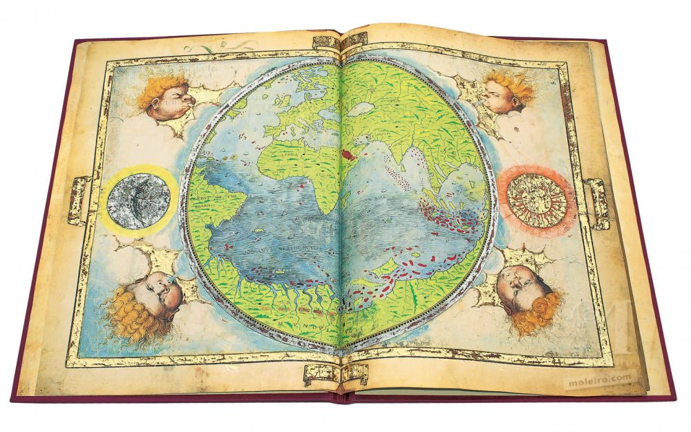 Atlas Miller Planisphere