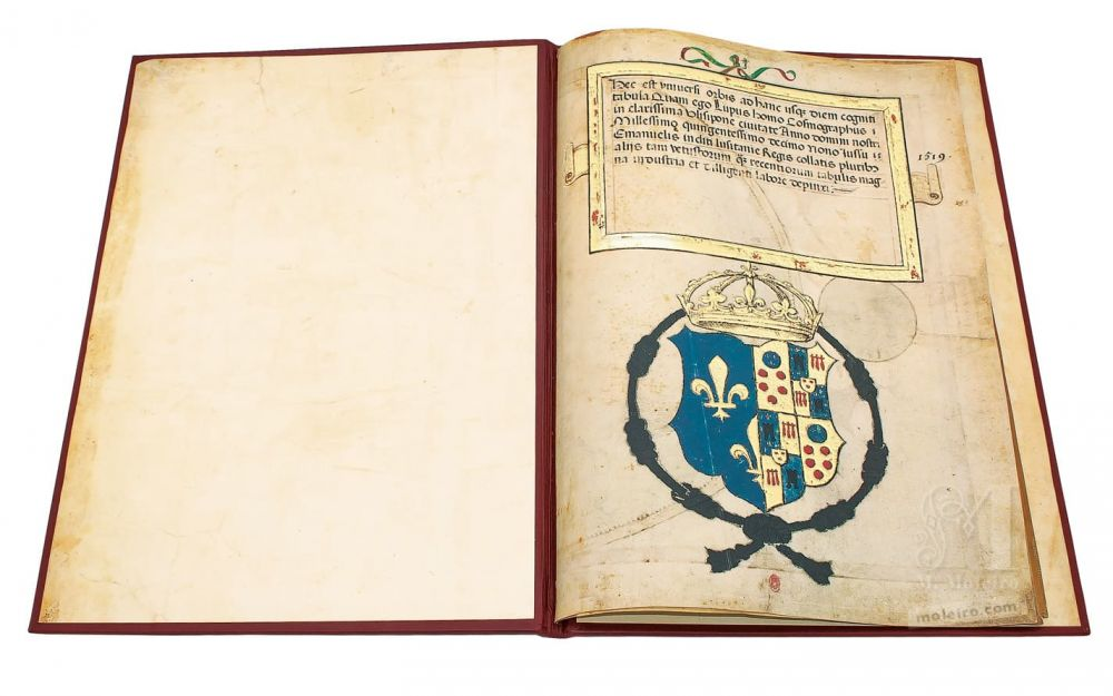Atlas Miller: Bound Presentation Coat of Arms