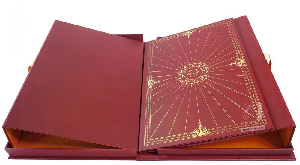 Atlas Miller: Bound Presentation Book stand and storage case
