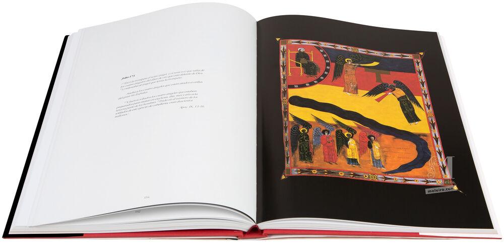 Comentarios al Apocalipsis Comentarios al Apocalipsis, Beato de Liébana, Códice de Fernando I y Doña Sancha. Visión del cordero sobre el monte Sión