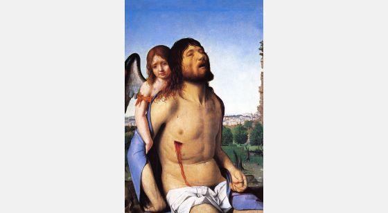 El Arte en el Renacimiento Antonello da Mesina, Pietà, Madrid, Museo del Prado.