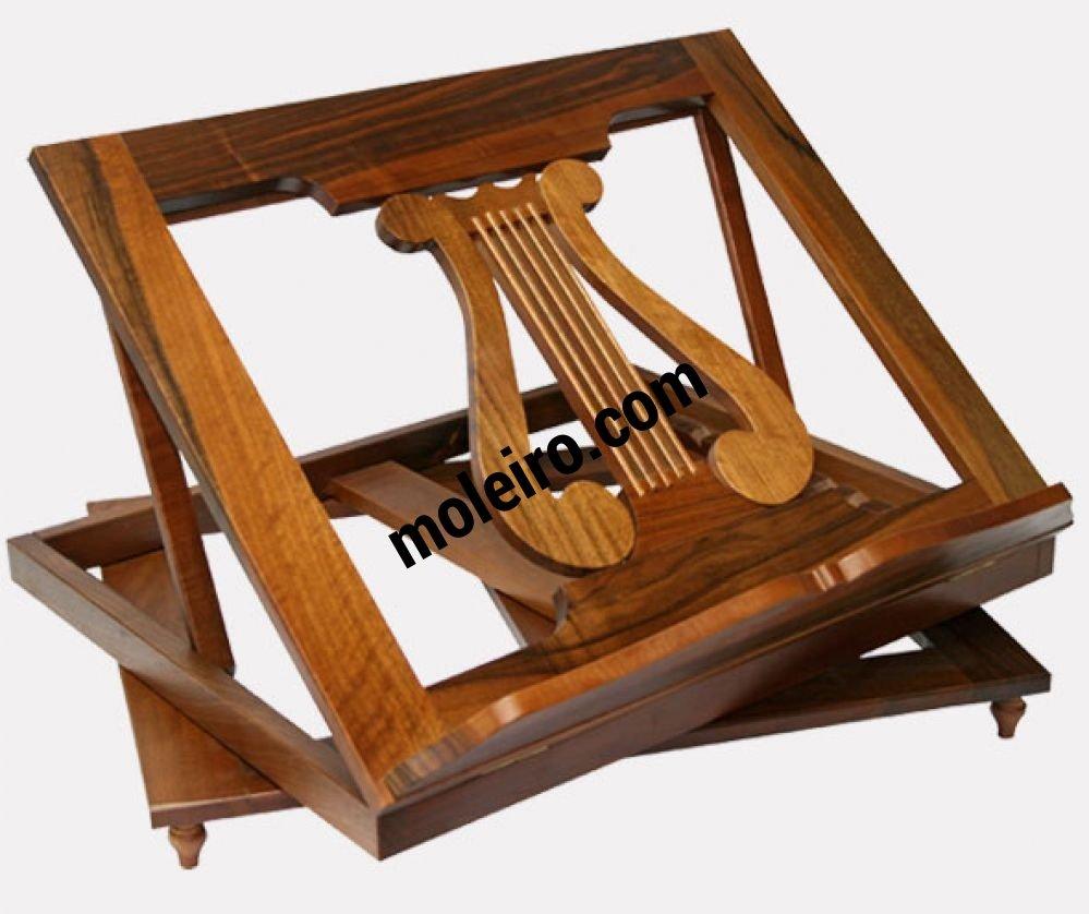 Revolving wood bookrest Revolving wood bookrest
