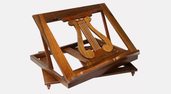 Atril de madera giratorio <p>Atril de madera giratorio</p>