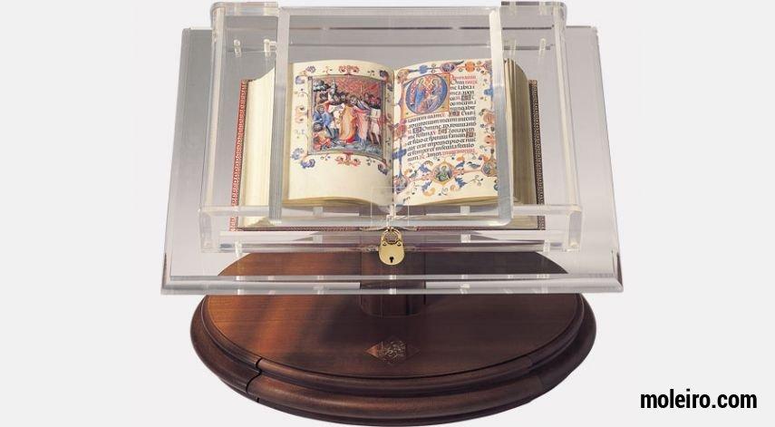 Présentoir pour petits codex