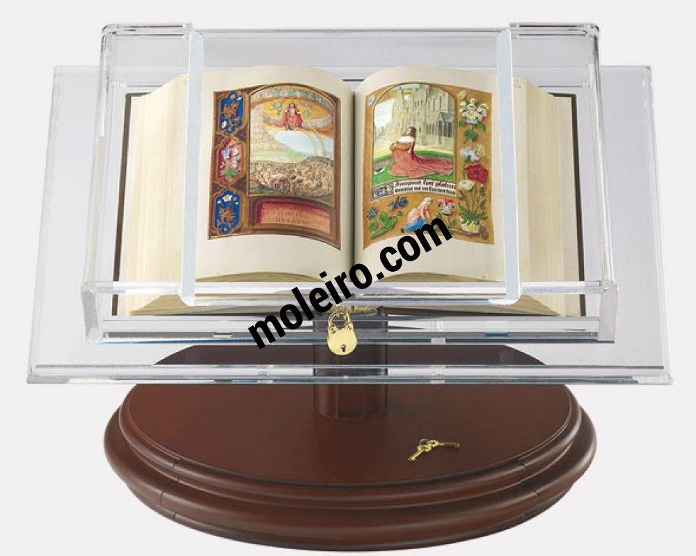 Présentoir pour codex de taille moyenne Présentoir avec le Livre d'Heures de Jeanne la Folle