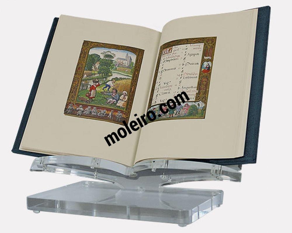 Small acrylic bookrest The Golf Book on bookrest
