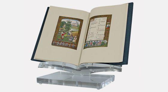 Atril de metacrilato pequeño <p>Atril con el <em>Libro del Golf</em></p>