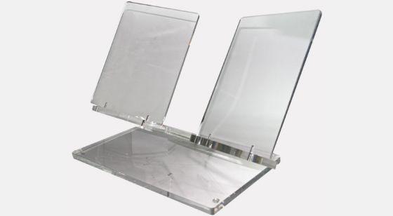 Acrylic bookrest Acrylic bookrest