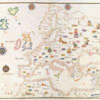 Karte Nr. 6. Europa