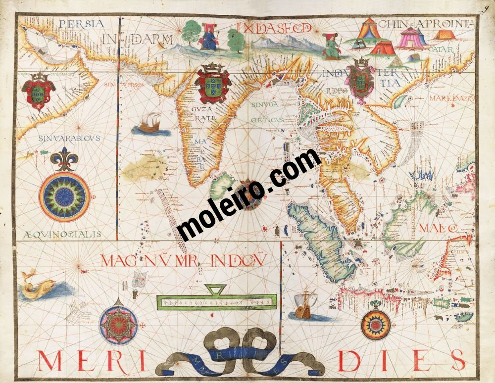 Universal Atlas Map No. 9. Indian Ocean