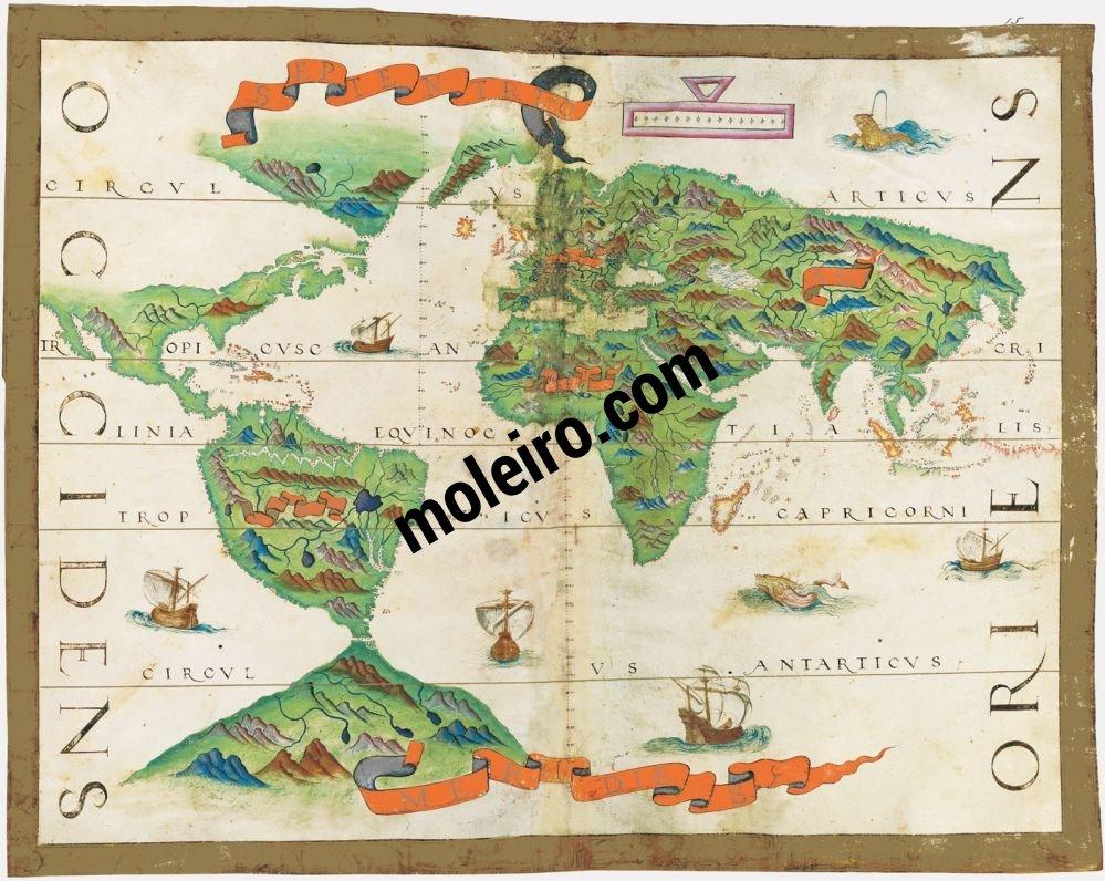 Weltatlas Karte Nr. 15. Die Welt