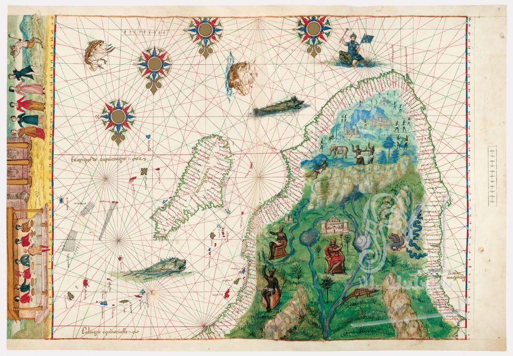 Vallard Atlas Southern Africa and Madagascar