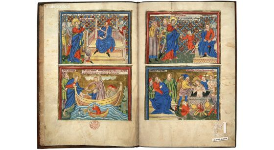 Picture Book of the Life of St John and the Apocalypse