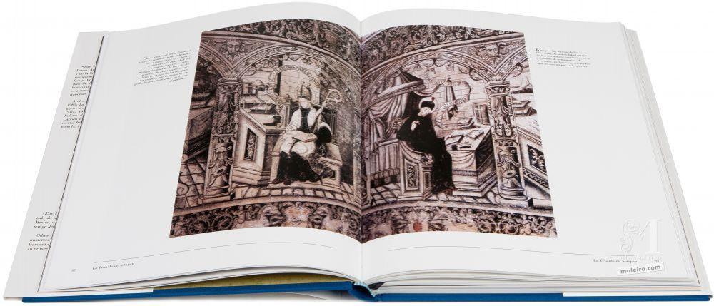 El Águila y la Sibila. Frescos indios de México La Tebaida de Actopan. Fray Alonso de Florencia, arzobispo de Florencia y doctor (a la derecha)