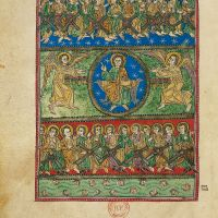 f. 53v, Vision of God in the Sky